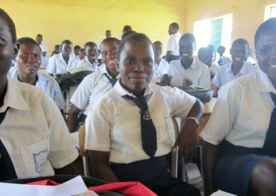 Girls class_white shirts