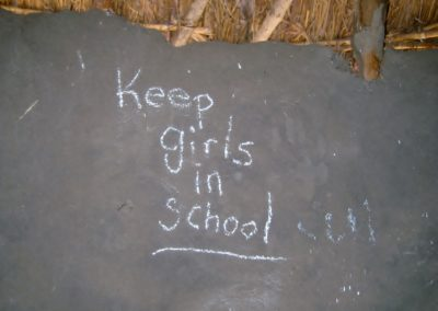 keep girls in school