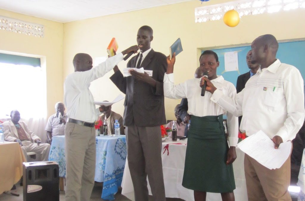 Prefects take oath of office in South Sudan